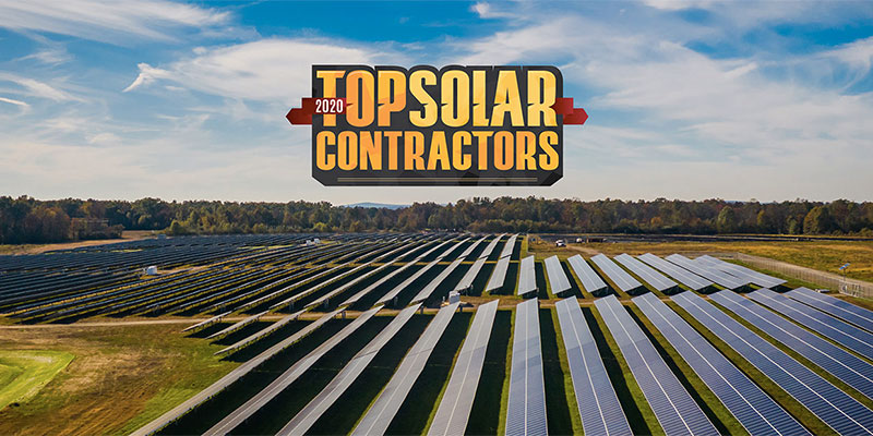CS Energy Earns Highest Recognition on 2020 Top Solar Contractors List