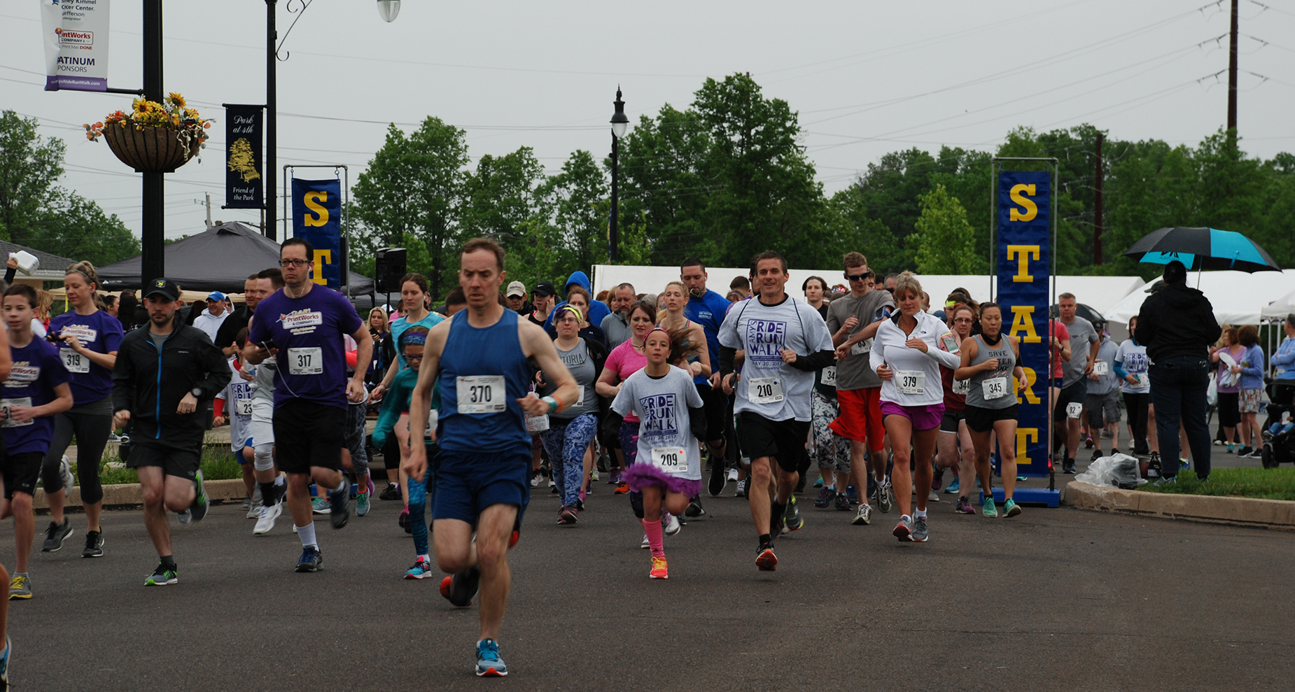 The Conti Group Employees Run Races for Cancer Cures