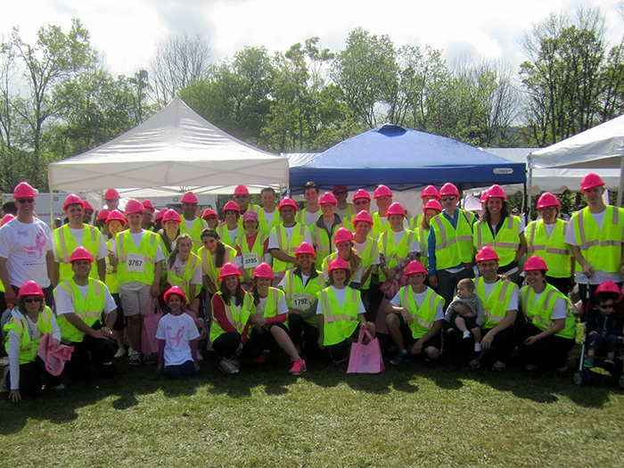 Komen and The Conti Group Fight Breast Cancer Together